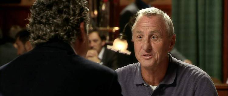 "Imagen del documental ""Messi"" - Johan Cruyff"