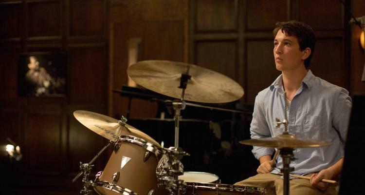 """Miles Teller en una escena de """"Whiplash"""""""