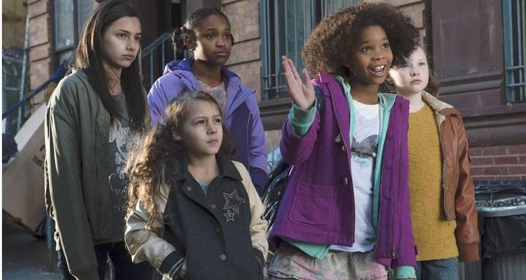 """Quvenzhané Wallis en la película musical """"Annie"""" (2015)"""