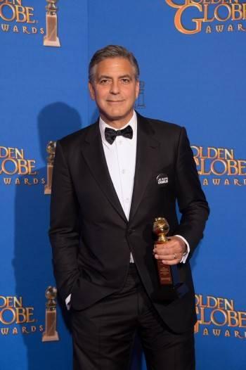 George Clooney, premio honorífico Globos de Oro 2015 © HFPA