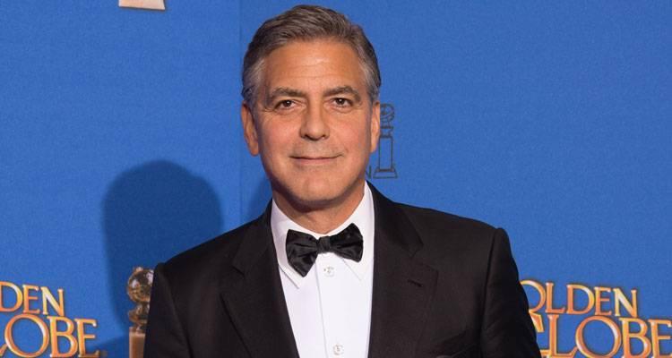 George Clooney con premio honorífico en los Globos de Oro 2015