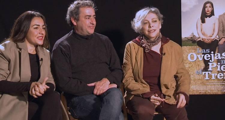 """Entrevista de la película """"Las ovejas no pierden el tren"""" (2015) con Candela Peña, Jorge Bosh y Kiti Mánver"""