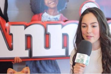 """María Parrado durante la entrevista a LosInterrogantes.com por """"Annie"""""""