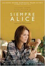 Siempre Alice - Cartel