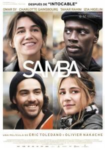 """Cartel de la película """"Samba"""""""