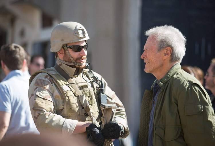"""Bradley Cooper y  Clint Eastwood - """"El francotirador"""""""