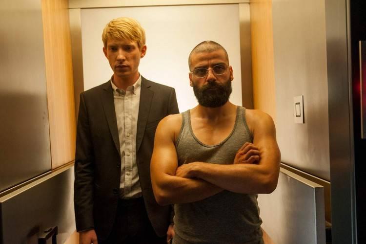 Domhnall Gleeson y Oscar Isaac - Foto de Ex Machina