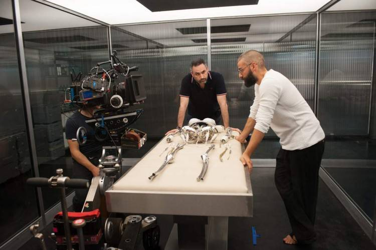 Rodaje de Ex Machina