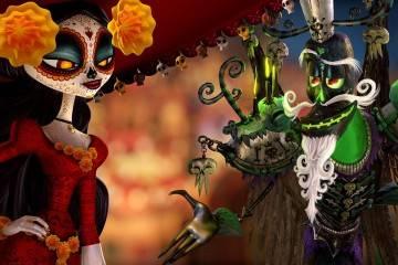 """La Catrina y Xibalba Foto de la película """"El libro de la vida"""""""