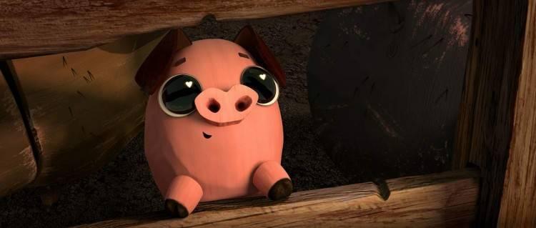 """El cerdito más tierno del mundo de la animación está en """"El libro de la vida"""""""