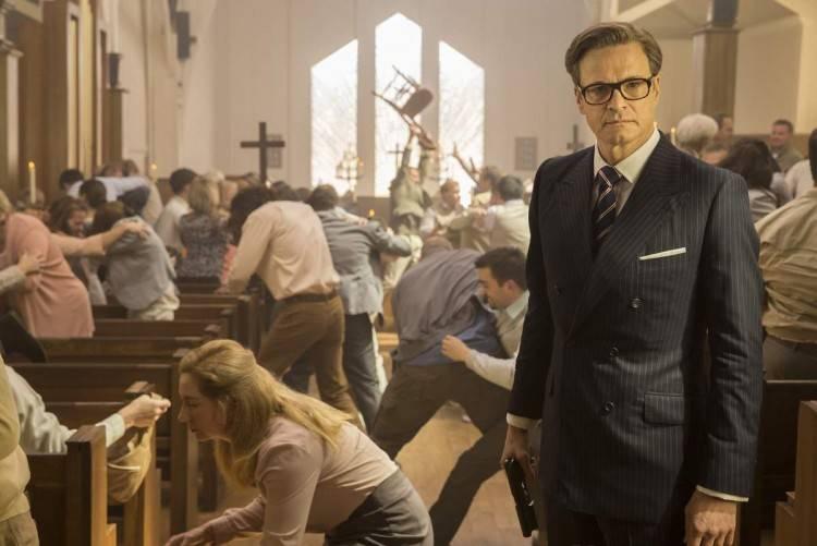 Colin Firth es el protagonista de una de las mejores escenas de acción de la historia - Kingsman: Servicio Secreto