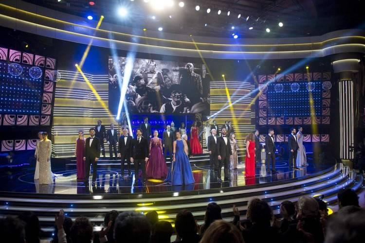 Premios Goya 2015: numero musical plano general - Fotógrafo Alberto Ortega ®