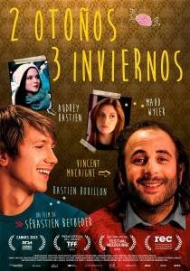 """Cartel de"""" 2 Otoños 3 Inviernos"""""""