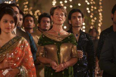 """Celia Imrie en la película """"El nuevo exótico Hotel Marigold"""""""