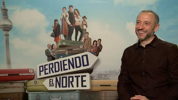 """Nacho García Velilla, director de """"Perdiendo el norte"""""""