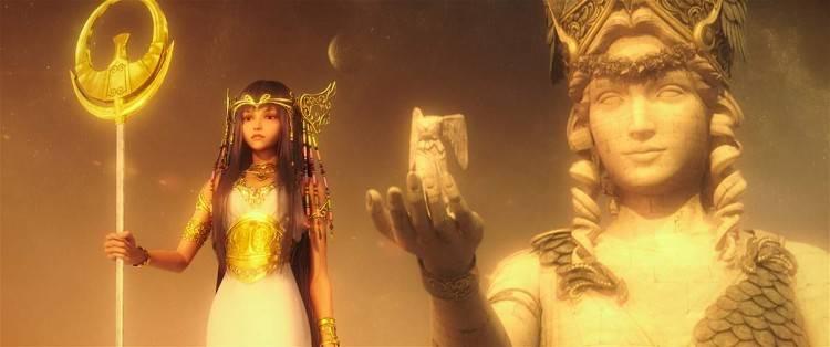 """Imagen de la película """"Los Caballeros del Zodiaco: La leyenda del santuario"""""""