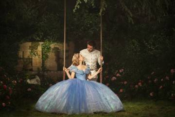"Richard Madden y Lily James en ""Cenicienta"" (2015)"