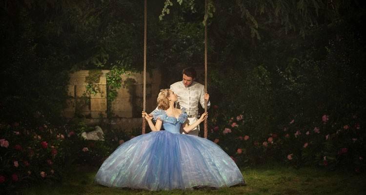 "Richard Madden y Lily James en ""Cenicienta"" (2015)"