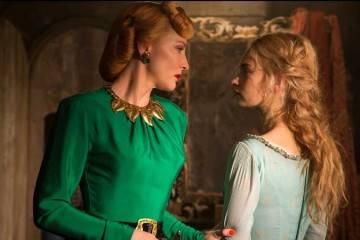 """Lily James y Cate Blanchett en la película """"Cenicienta"""" (2015)"""