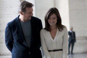 """Liam Neeson y Olivia Wilde en la película """"En tercera persona"""""""