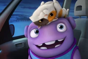 """Imagen de la película de animación """"Home. Hogar dulce hogar"""" (2015)"""