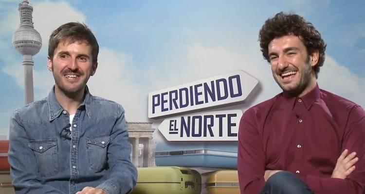 """Entrevista a Julián López y Miki Esparbé por """"Perdiendo el Norte"""""""