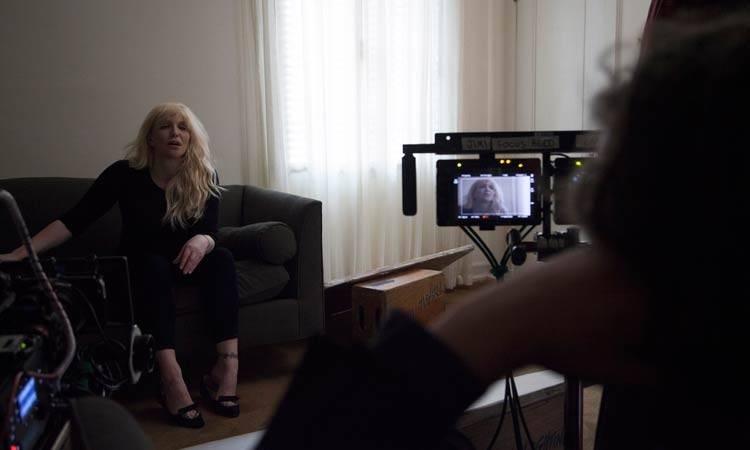 "Courtney Love en el documental ""Cobain: Montage of Heck"" (2015)"