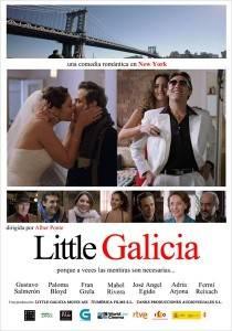 """Cartel de """"Little Galicia"""""""