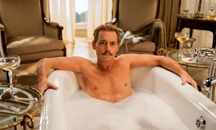 Johnny Depp es Mortdecai (2015)