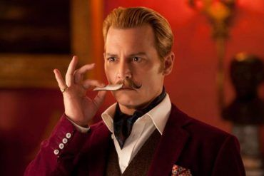 Johnny Depp en Mortdecai (2015)
