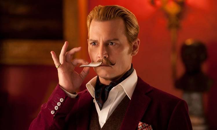 Johnny Depp en Mortdecai (2015)