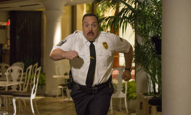 "Kevin James en ""Superpoli en Las Vegas"" (2015)"