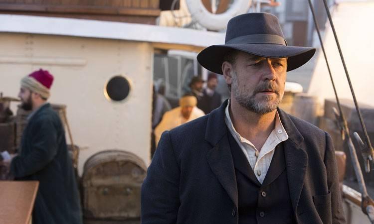 """Russell Crowe en """"El maestro del agua"""" (2015)"""