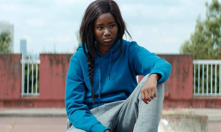 "Karidja Touré en ""Girlhood"""
