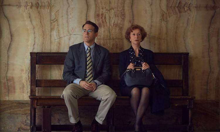 """Imagen de la película """"La dama de Oro"""" con Helen Mirren y Ryan Reynolds"""