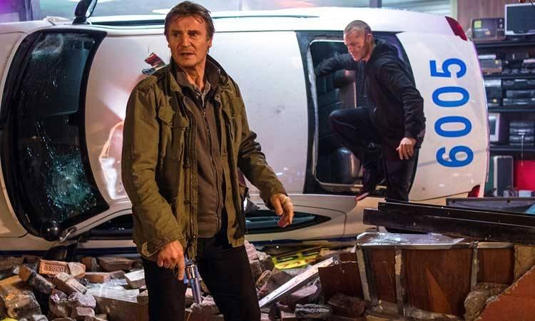 """Joel Kinnaman y Liam Neeson en """"Una noche para sobrevivir"""""""