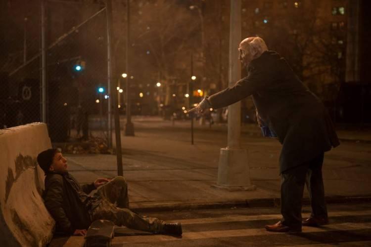 """Adam Sandler como un zombie en la película """"Con la magia en los zapatos"""""""