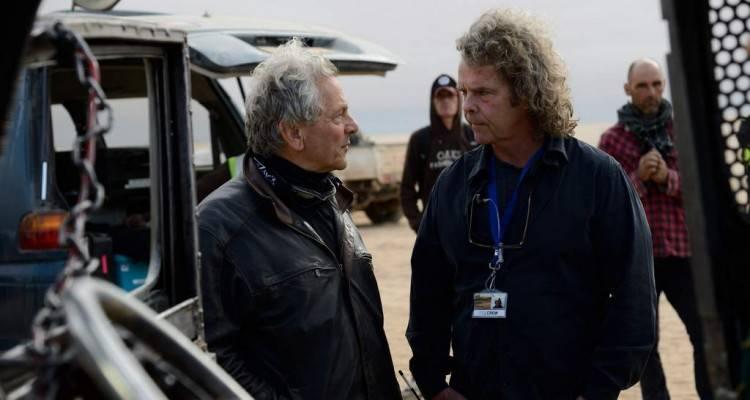 """En el rodaje de """"Mad Max: Furia en la carretera"""""""