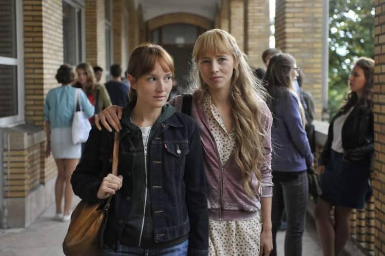 Imagen de la película Una buena amiga: Anaïs Demoustier e Isild Le Besco