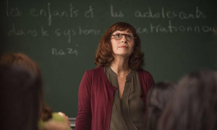 """Ariane Ascaride en la película """"La profesora de historia"""" (2015)"""