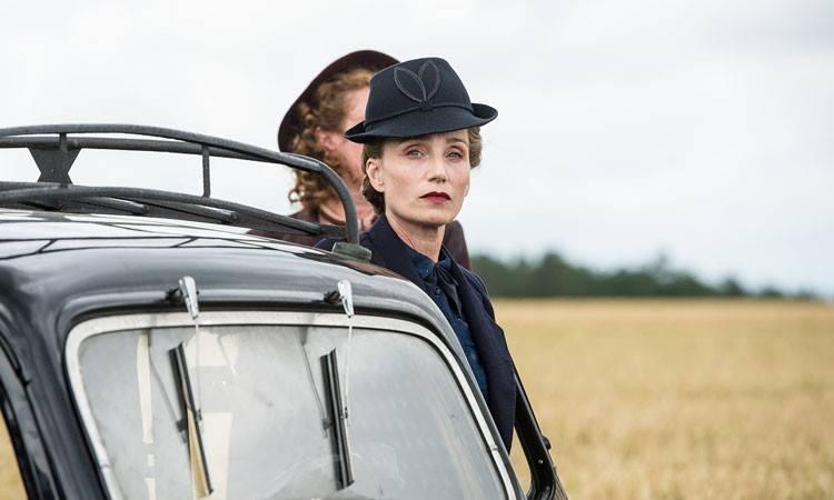 "Kristin Scott Thomas en la película ""Suite francesa"" (2015)"