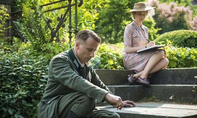 """Michelle Williams y Matthias Schoenaerts en """"Suite francesa"""" (2015)"""