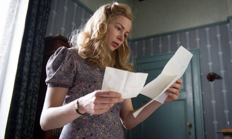 "Michelle Williams en  la película ""Suite francesa"" (2015)"