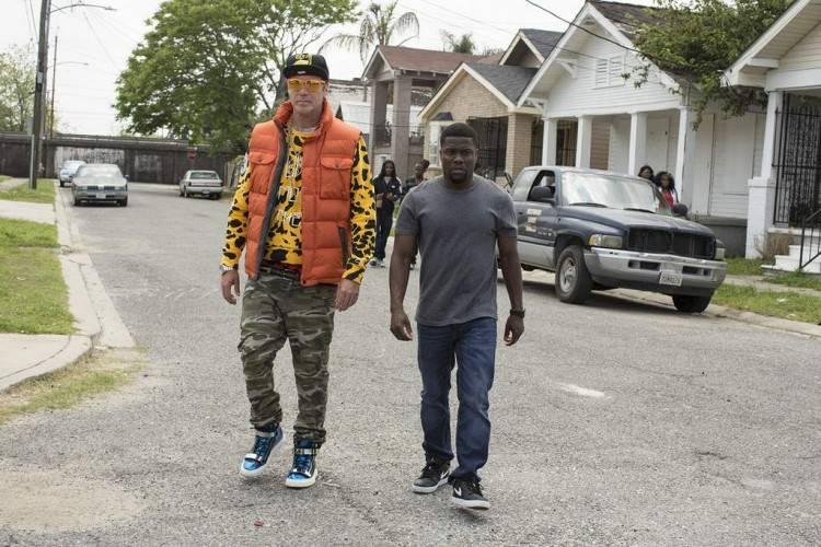Will Ferrell (a lo Lil Wayne) y Kevin Hart en Dale duro