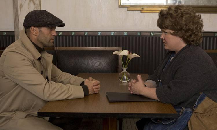 """Melissa McCarthy y Jason Statham  en una escena de """"Espías"""" (2015)"""