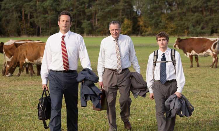 """Vince Vaughn, Tom Wilkinson y Dave Franco en """"Negocios con resaca"""""""