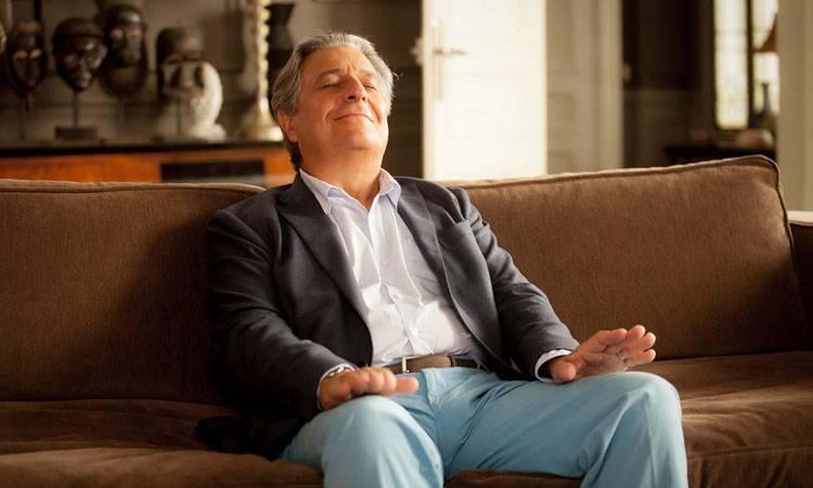 """Christian Clavier en la película """"No molestar"""" (2015) (2015)"""