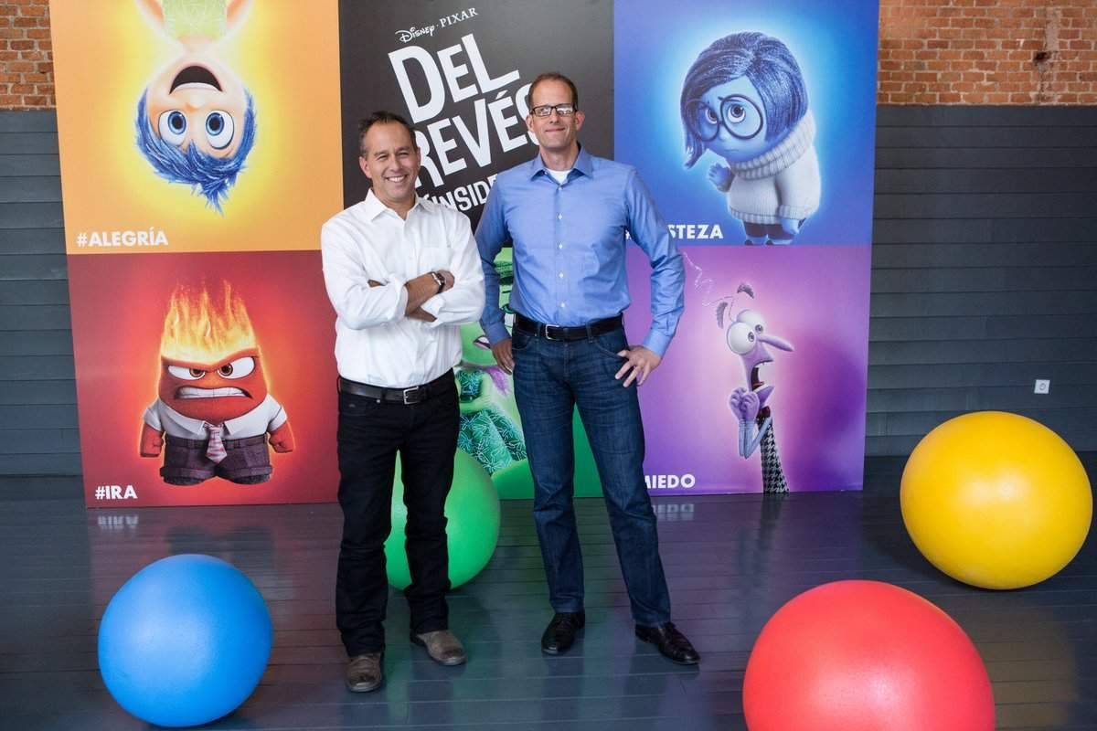 Del revés (Inside out): Entrevistas con Pete Docter (Director) y Jonas Rivera (Productor)