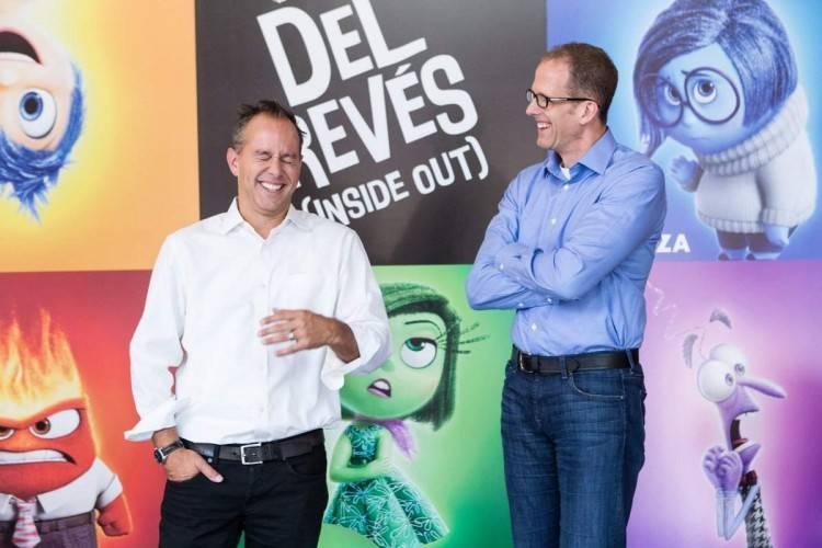 Del revés (Inside out): Entrevistas con Pete Docter (Director) y Jonas Rivera (Productor)