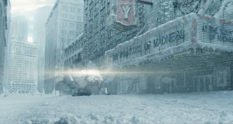 Imagen del mundo post-apocalíptico de la película 'Extinction' (2015)